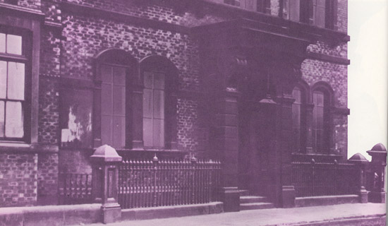 Photo of the first LBS Head office